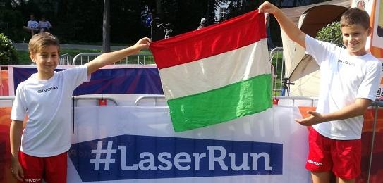 Laser Run Eb: csepeliek az élmezőnyben