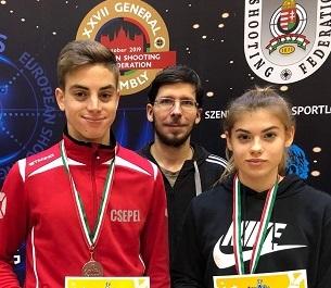 Sportlövészet: csepeli sikerek a Diákolimpián